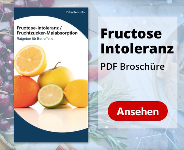 PDF Broschüre Fructose-Intoleranz