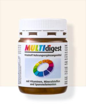 Multidigest Vitalstoff Nahrungsergänzungsmittel